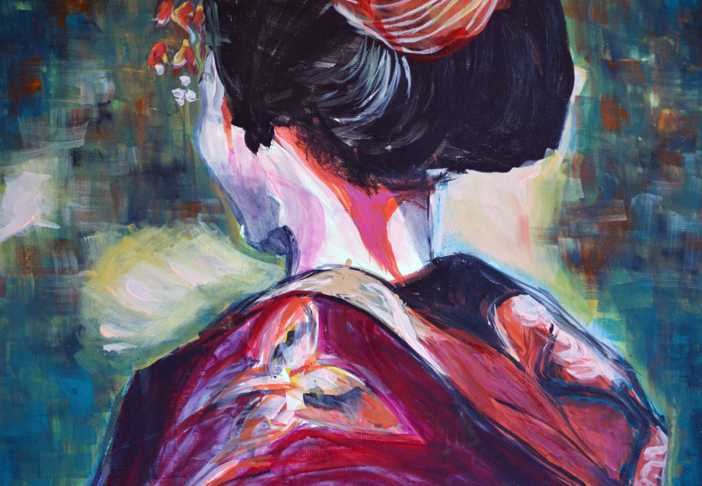 back or geisha
